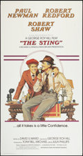 "Movie Posters:Crime, The Sting (Universal, 1973). International Three Sheet (41"" X 81"")Flat Folded. Crime.. ..."