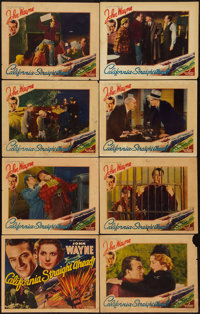 "California Straight Ahead (Universal, 1937). Lobby Card Set of 8 (11"" X 14""). Action. ... (Total: 8 Items)"
