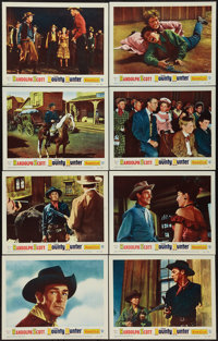 """The Bounty Hunter (Warner Brothers, 1954). Lobby Card Set of 8 (11"""" X 14""""). Western. ... (Total: 8 Items)"""