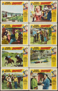 "Movie Posters:Western, Gunpoint (Universal, 1966). Lobby Card Set of 8 (11"" X 14""). Western.. ... (Total: 8 Items)"