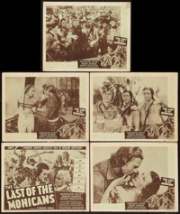The Last of the Mohicans (PRC & Astor, R-1947 & R-1951). Title Lobby Card & Lobby Cards (10) (11...