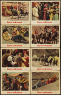 """Movie Posters:Western, Ride the High Country (MGM, 1962). International Lobby Card Set of 8 (11"""" X 14""""). Western. Alternate title: Guns in the Af... (Total: 8 Items)"""