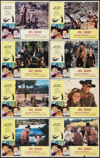 "Rooster Cogburn (Universal, 1975). Lobby Card Set of 8 (11"" X 14""). Western. ... (Total: 8 Items)"