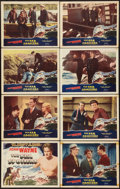 """Movie Posters:Action, The Sea Spoilers (Realart, R-1948). Lobby Card Set of 8 (11"""" X 14""""). Action.. ... (Total: 8 Items)"""