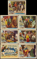 "Movie Posters:Western, Sierra (Universal International, 1950). Title Lobby Card (11"" X 14"") & Lobby Cards (6) (11"" X 14""). Western.. ... (Total: 7 Items)"