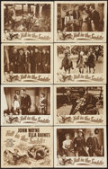 "Movie Posters:Western, Tall in the Saddle (RKO, R-1949, R-1953 & R-1957). Lobby Card Sets of 8 (2) and Lobby Card (1) (11"" X 14""). Western.. ... (Total: 17 Items)"