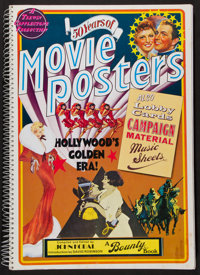 """50 Years of Movie Posters (Bounty Books, 1970s). Poster Books (2) (176 Pages, 12"""" X 17.5""""). Miscellaneous..."""