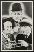 "Movie Posters:Comedy, Three Stooges Promotional Giveaway (Columbia, 1936). Promotional Giveaway (5' X 7.5""). Comedy.. ..."