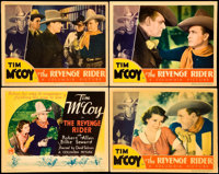 "The Revenge Rider (Columbia, 1935). Title Lobby Card and Lobby Cards (3)(11"" X 14""). Western. ... (Total: 4 It..."