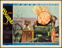 """The Telegraph Trail (Warner Brothers, 1933). Lobby Card (11"""" X 14""""). Western"""