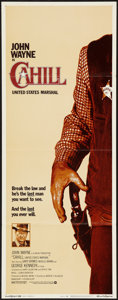 "Movie Posters:Western, Cahill: United States Marshal (Warner Brothers, 1973). Insert (14"" X 36""). Western.. ..."