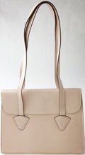 Luxury Accessories:Bags, Heritage Vintage: Loewe Vintage Pearl Leather Tote. ...