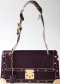 Luxury Accessories:Bags, Heritage Vintage: Louis Vuitton Plum Suhali Leather le TalenteuxShoulder Bag. ...