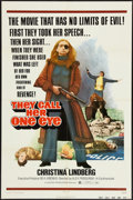 "Movie Posters:Crime, They Call Her One Eye (United Producers, 1974). One Sheet (27"" X41""). Crime.. ..."