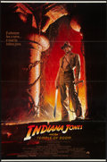 "Movie Posters:Adventure, Indiana Jones and the Temple of Doom (Paramount, 1984). One Sheet(27"" X 41""). Adventure.. ..."