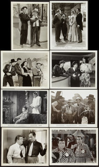 """Abbott and Costello Lot (Universal, 1940s). Photos (8) & Publicity Photos (6) (8"""" X 10""""). Comedy..."""