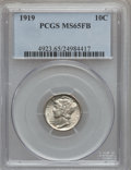 Mercury Dimes: , 1919 10C MS65 Full Bands PCGS. PCGS Population (133/63). NGCCensus: (50/18). Mintage: 35,740,000. Numismedia Wsl. Price fo...