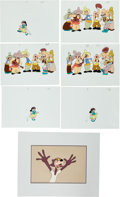 Animation Art:Limited Edition Cel, Production Cel Animation Art Group (c. 1960s).... (Total: 7Original Art)