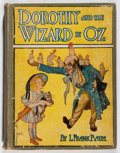 Books:Children's Books, L. Frank Baum. Dorothy and the Wizard of Oz. Reilly &Lee, 1908. Later impression. Offsetting. Ex-library with pocke...