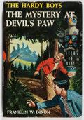 Books:Children's Books, Franklin W. Dixon. The Mystery at Devil's Paw. Grosset &Dunlap, 1959. Later impression. Small stain on top edge...
