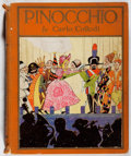 Books:Children's Books, Carlo Collodi. Pinocchio. Sears, 1926. Later edition. Hingescrudely reinforced. Owner's name. Color frontispiec...