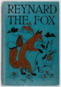 Books:Children's Books, Sidney G. Firman. Reynard the Fox. Winston, 1929. Laterimpression. Owner's name. Spine sunned with light wear t...