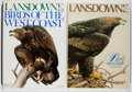 Books:Natural History Books & Prints, J. F. Lansdowne. Birds of the West Coast. Vol. One & Two. Houghton Mifflin, 1976-1980. First edition, first prin... (Total: 2 Items)