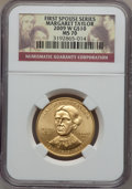 Modern Issues, 2009-W G$10 Margaret Taylor MS70 NGC. Ex: First Spouse Series. NGCCensus: (0). PCGS Population (191). Numismedia Wsl. Pri...