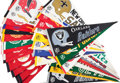 Miscellaneous Collectibles:General, 1960's and 1970's NFL, MLB and College Sports Pennants Lot of35....