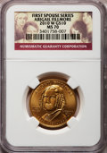 Modern Issues, 2010-W $10 Abigail Fillmore MS70 NGC. Ex: First Spouse Series. NGCCensus: (0). PCGS Population (176). (#418377)...