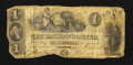 Obsoletes By State:Ohio, Wooster, OH- Bank of Wooster $1 Oct. 1, 1846. ...