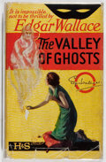 Books:Mystery & Detective Fiction, Edgar Wallace. The Valley of Ghosts. Hodder and Stoughton,[n. d.]. Later edition. Front hinge cracked. Offsetting. ...