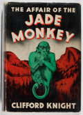 Books:Mystery & Detective Fiction, Clifford Knight. The Affair of the Jade Monkey. Dodd, Mead,1943. First edition, first printing. Slight lean wit...