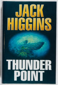 Books:Mystery & Detective Fiction, Jack Higgins. SIGNED. Thunder Point. Michael Joseph, 1993.First edition, first printing. Signed by the author. ...