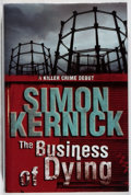 Books:Mystery & Detective Fiction, Simon Kernick. SIGNED. The Business of Dying. Bantam, 2002.First edition, first printing. Signed by the autho...