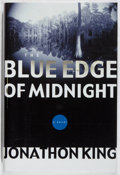 Books:Mystery & Detective Fiction, Jonathon King. SIGNED. The Blue Edge of Midnight. Dutton,2002. First edition, first printing. Signed by the a...