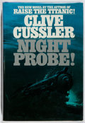 Books:Mystery & Detective Fiction, Clive Cussler. SIGNED. Night Probe! Bantam, 1981. Firstedition, first printing. Signed by the author. Minor rub...