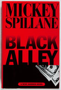 Books:Mystery & Detective Fiction, Mickey Spillane. SIGNED. Black Alley. Dutton, 1996. Firstedition, first printing. Signed by the author. Fine....