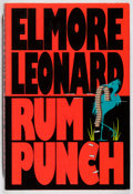 Books:Mystery & Detective Fiction, Elmore Leonard. SIGNED. Rum Punch. Delacorte, 1992. First edition, first printing. Signed by the author. Min...