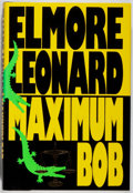 Books:Mystery & Detective Fiction, Elmore Leonard. SIGNED. Maximum Bob. Delacorte, 1991. Firstedition, first printing. Signed by the author. Fine....