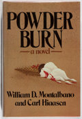 Books:Mystery & Detective Fiction, William D. Montalbano and Carl Hiaasen. Powder Burn.Atheneum, 1981. First edition, first printing. Minor toning to ...