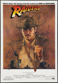 "Movie Posters:Adventure, Raiders of the Lost Ark (Paramount, 1981). Promo Poster (16.5"" X23.5""). Adventure.. ..."
