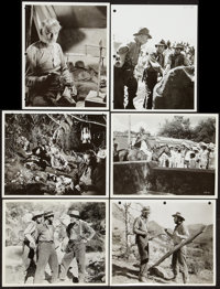 "The Treasure of the Sierra Madre (Warner Brothers, 1948). Photos (6) (8"" X 10""). Film Noir. ... (Total: 6 Item..."