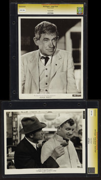 """Will Rogers in Judge Priest & Other Lot (Fox, 1934). CGC Graded Photos (2) (8"""" X 10""""). Comedy. ... (To..."""