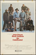 "Movie Posters:Western, The Undefeated (20th Century Fox, 1969). One Sheet (27"" X 41""). Western.. ..."