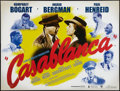 "Movie Posters:Academy Award Winners, Casablanca (Warner, R-2007). British Quad (30"" X 40""). AcademyAward Winners.. ..."