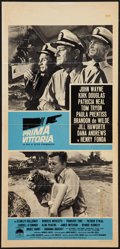 "Movie Posters:War, In Harm's Way (Paramount, 1965). Italian Locandina (13"" X 27.5"").War.. ..."