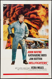 """Hellfighters (Universal, 1969). One Sheet (27"""" X 41""""). Action"""