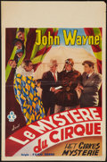 "Movie Posters:Serial, The Shadow of the Eagle (ABC Films, Late 1940s). Belgian (14"" X 21.5""). Serial.. ..."