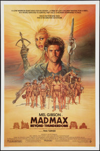 """Mad Max Beyond Thunderdome & Others Lot (Warner Brothers, 1985). One Sheets (3) (27"""" X 40"""" & 2..."""